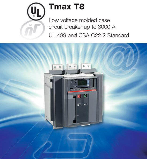 Tmax T8 UL 489 ABB SACE
