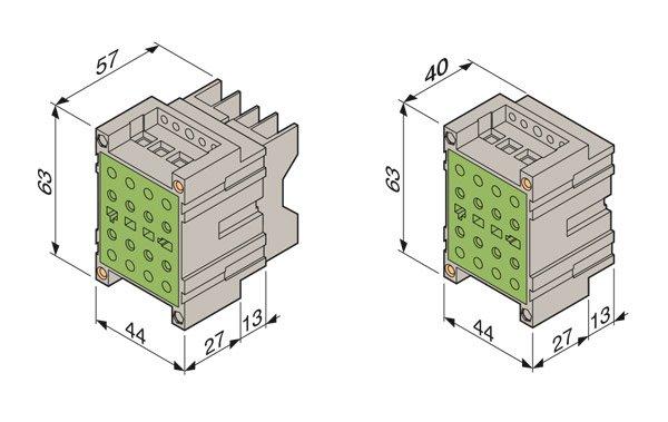 Dimensioni montaggio Essailec